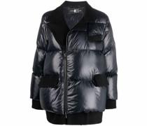 Asymmetrische Jacke mit Futter
