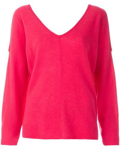 Weiter Cold-Shoulder-Pullover