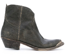 Cowboystiefel im Used-Look - women - Leder - 39