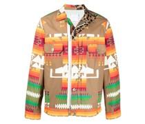 Leichte Jacke mit geometrischem Print