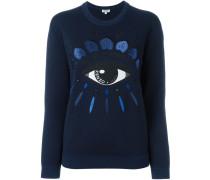 'Eye' Sweatshirt aus Wollgemisch