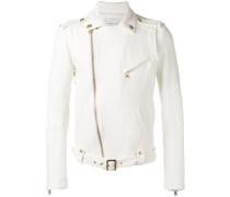 - belted biker jacket - men