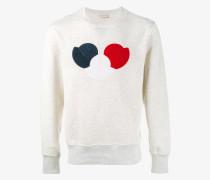 Sweatshirt mit Logo-Patch - men