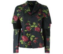 - Blazer mit Blumen-Print - women