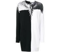 Hemdkleid mit Flügel-Print