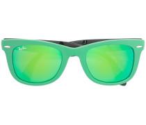 Faltbare 'Wayfarer' Sonnenbrille