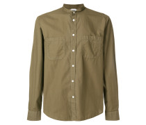button safari shirt