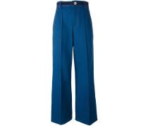 'Bowie' Jeans mit weitem Bein