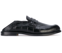 Loafer in Krodokilleder-Optik