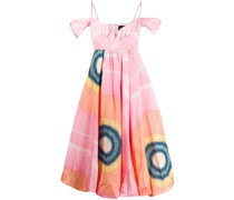 Kleid mit Kontrast-Print