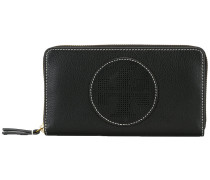 Portemonnaie mit perforiertem Logo