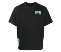 """T-Shirt mit """"Port of Origin""""-Print"""