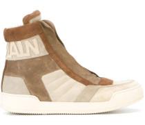logo hi-top sneakers
