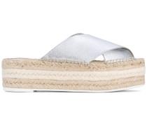Sandalen mit Jutesohle