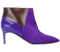 panelled stiletto boots