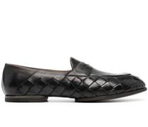 Loafer mit gewebtem Detail