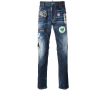 'Cool Guy' Jeans mit Patches