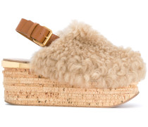 Camille shearling mules