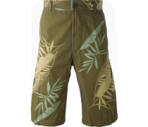 'P-Cooper' tropical print bermuda shorts