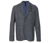 curved tailored jacket