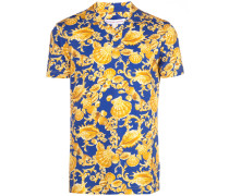Poloshirt mit Muschel-Print