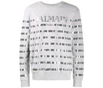 Sweatshirt mit Spiegeleffekt