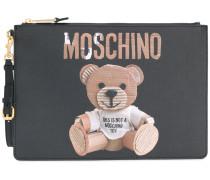 Toy Bear portfolio clutch