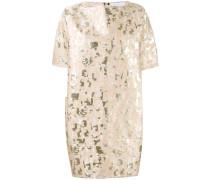 Kurzes Jacquard-Kleid