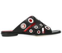 Sandalen mit Cut-Outs - women - Leder - 37.5