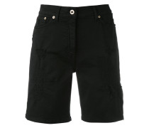 Jeans-Shorts mit Gürtelschlaufen - women