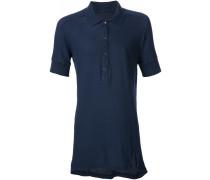 Langes Poloshirt