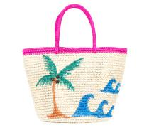 Shopper mit Palmenmotiv