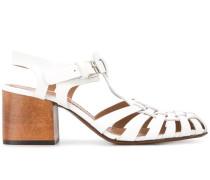 Sandalen mit überkreuzten Riemen, 65mm