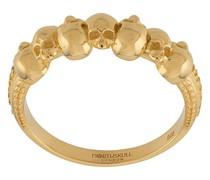 'Septem Skull' Ring