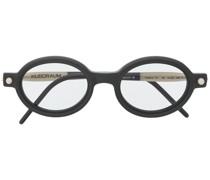 'P6' Sonnenbrille mit rundem Gestell