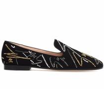 G-Glam Loafer aus Wildleder