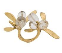 24kt 'Harumi Mistletoe' Goldring