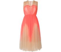 flared pleated dress
