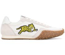 'Tiger' Sneakers mit Stickerei