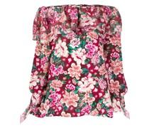 Tunikakleid mit Blumen-Print
