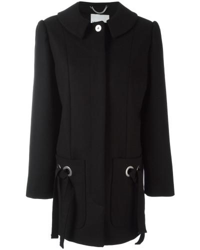 Mantel mit Bändern