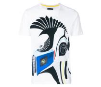 T-Shirt mit Zebra-Print