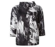 Jacke mit abstraktem Print