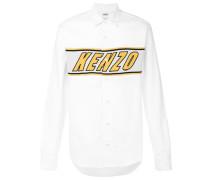 logo embroidered shirt