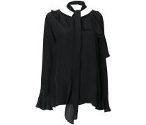 asymmetric layered blouse