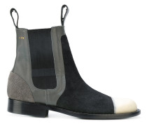 Chelsea-Boots in Colour-Block-Optik