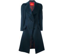 Mantel mit strukturierten Schultern