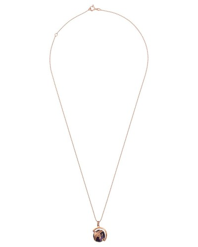 Halskette mit Globusanhänger