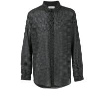 Hemd mit Print - men - Baumwolle - L