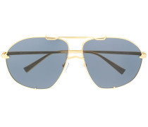x Linda Farrow 'Mina' Pilotenbrille